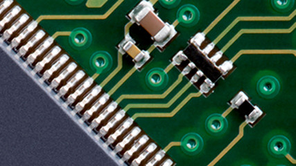 Zoom-in on a microchip